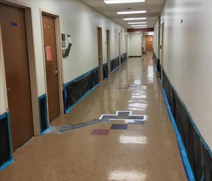 LARGE COMMERCIAL WATER DAMAGE